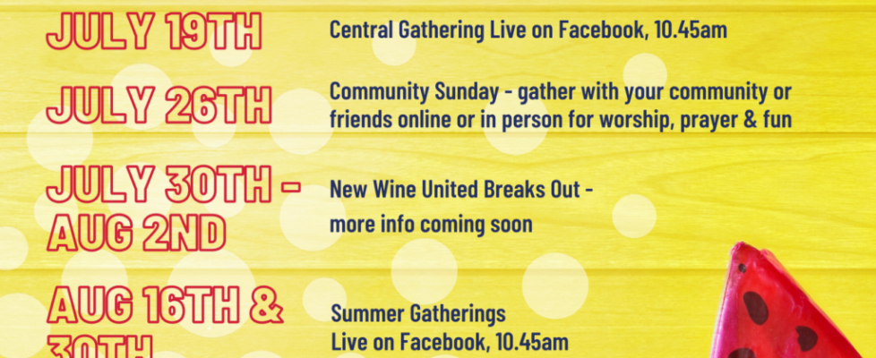 Summer Gatherings with Kairos